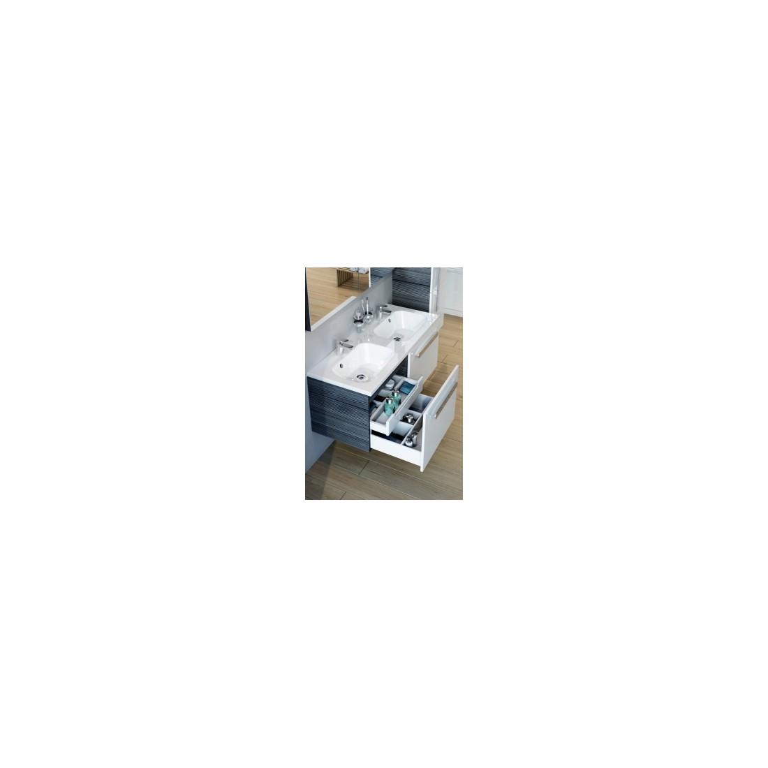 Vonios spintelė praustuvui RAVAK CHROME SD 1200, Balta