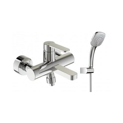 Maišytuvas Ideal Standard, Gio, voniai, su dušo komplektu
