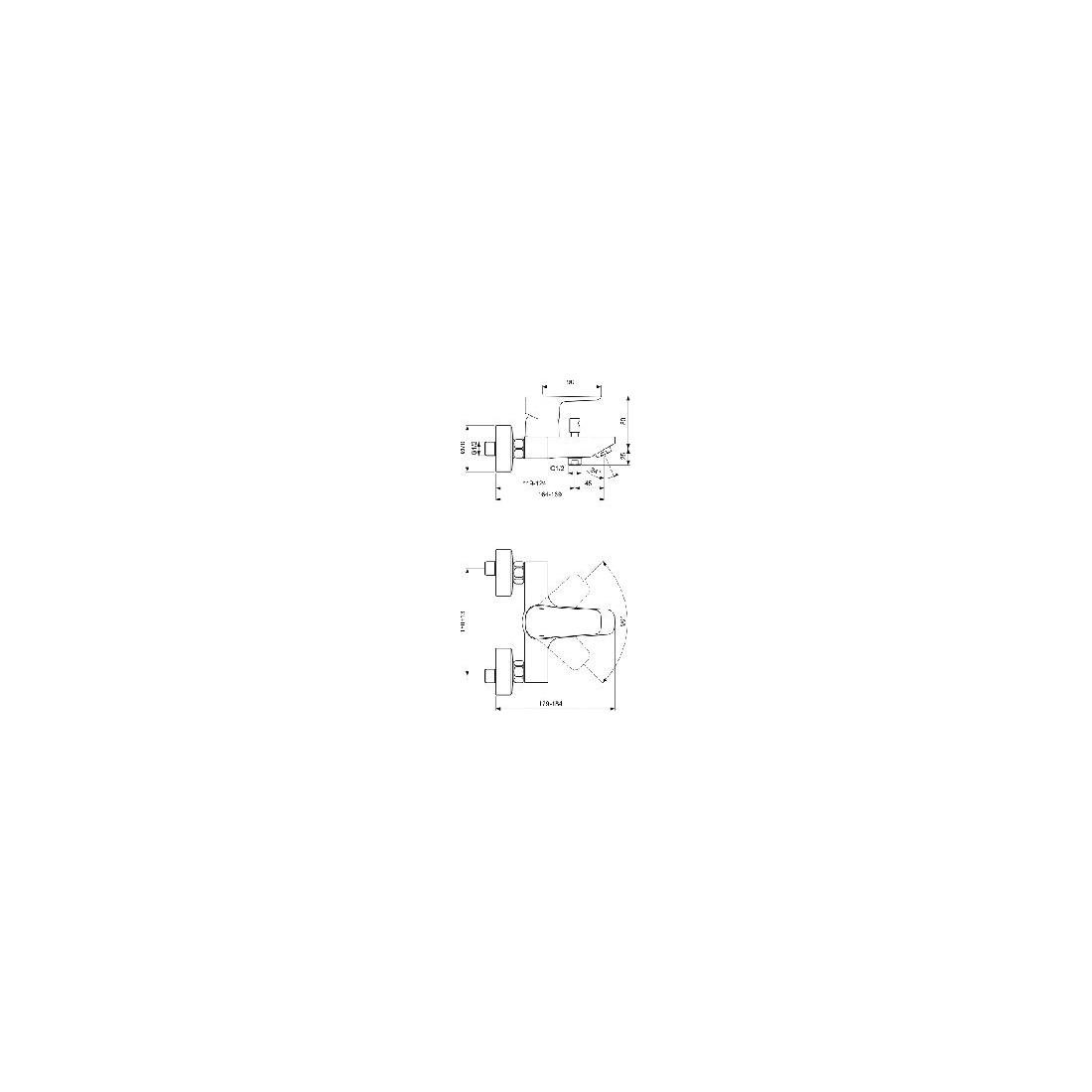 Maišytuvas Ideal Standard, Ceraplan III, voniai