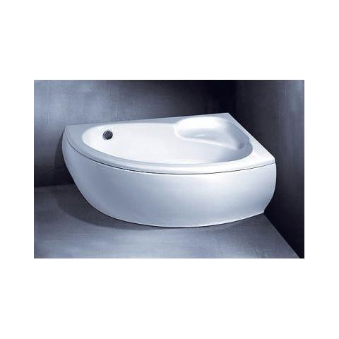 Vonios Vispool Piccola apdaila, kairės pusės balta