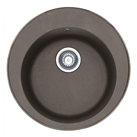 Akmens masės plautuvė Franke Ronda ROG 610-41, ekscentrinis ventilis, Umbra