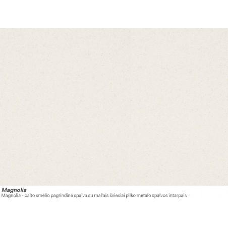 Akmens masės plautuvė Franke Ronda ROG 610-41, užkemšamas ventilis, Magnolia