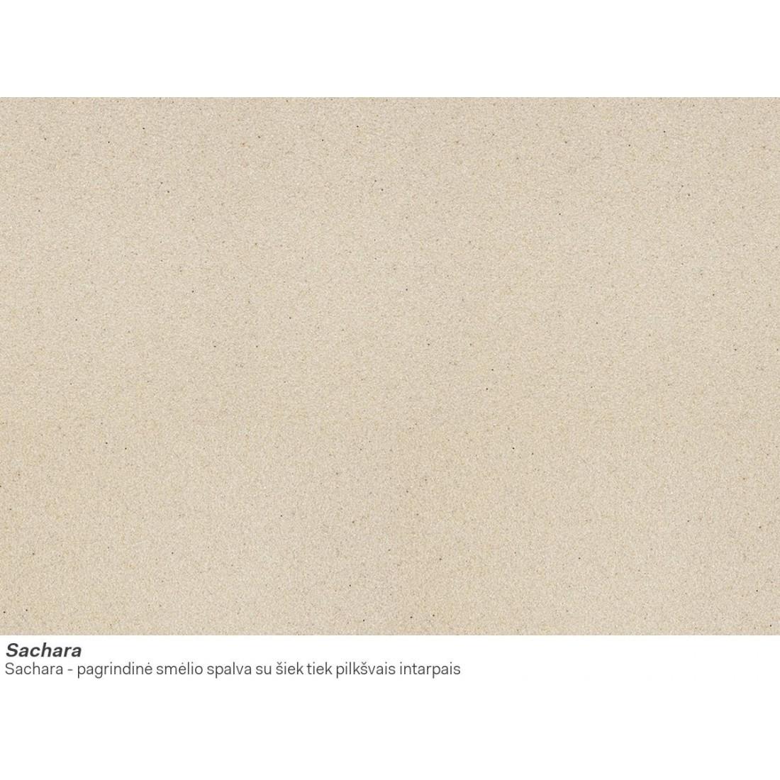 Akmens masės plautuvė Franke Ronda ROG 610-41, ekscentrinis ventilis, Sachara