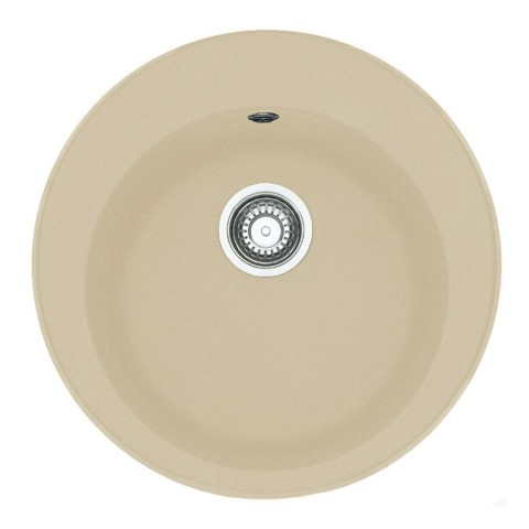 Akmens masės plautuvė Franke Ronda ROG 610-41, užkemšamas ventilis, Sachara