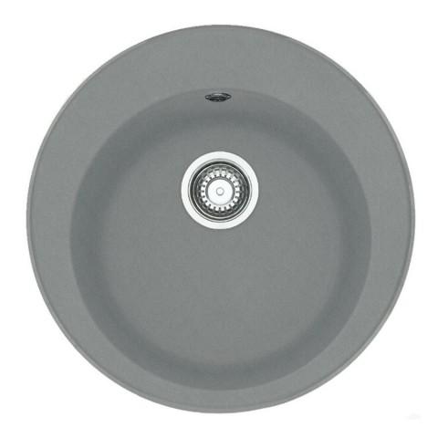 Akmens masės plautuvė Franke Ronda ROG 610-41, ekscentrinis ventilis, Steingrau