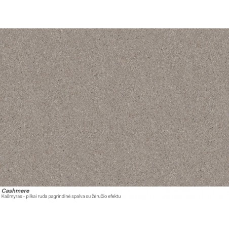 Akmens masės plautuvė Franke Ronda ROG 611-62, užkemšamas ventilis, Cashmere
