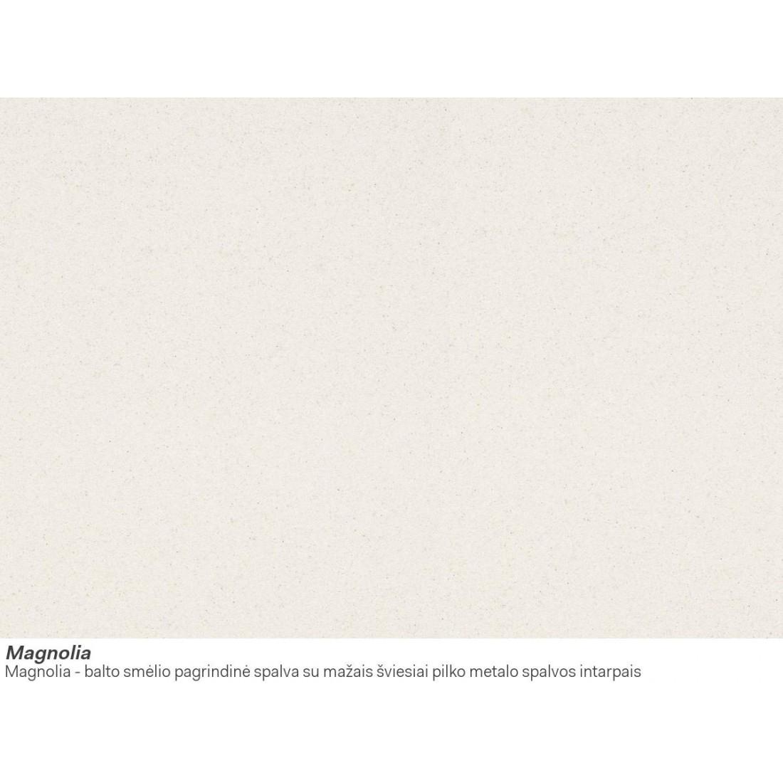 Akmens masės plautuvė Franke Ronda ROG 611-62, ekscentrinis ventilis, Magnolia