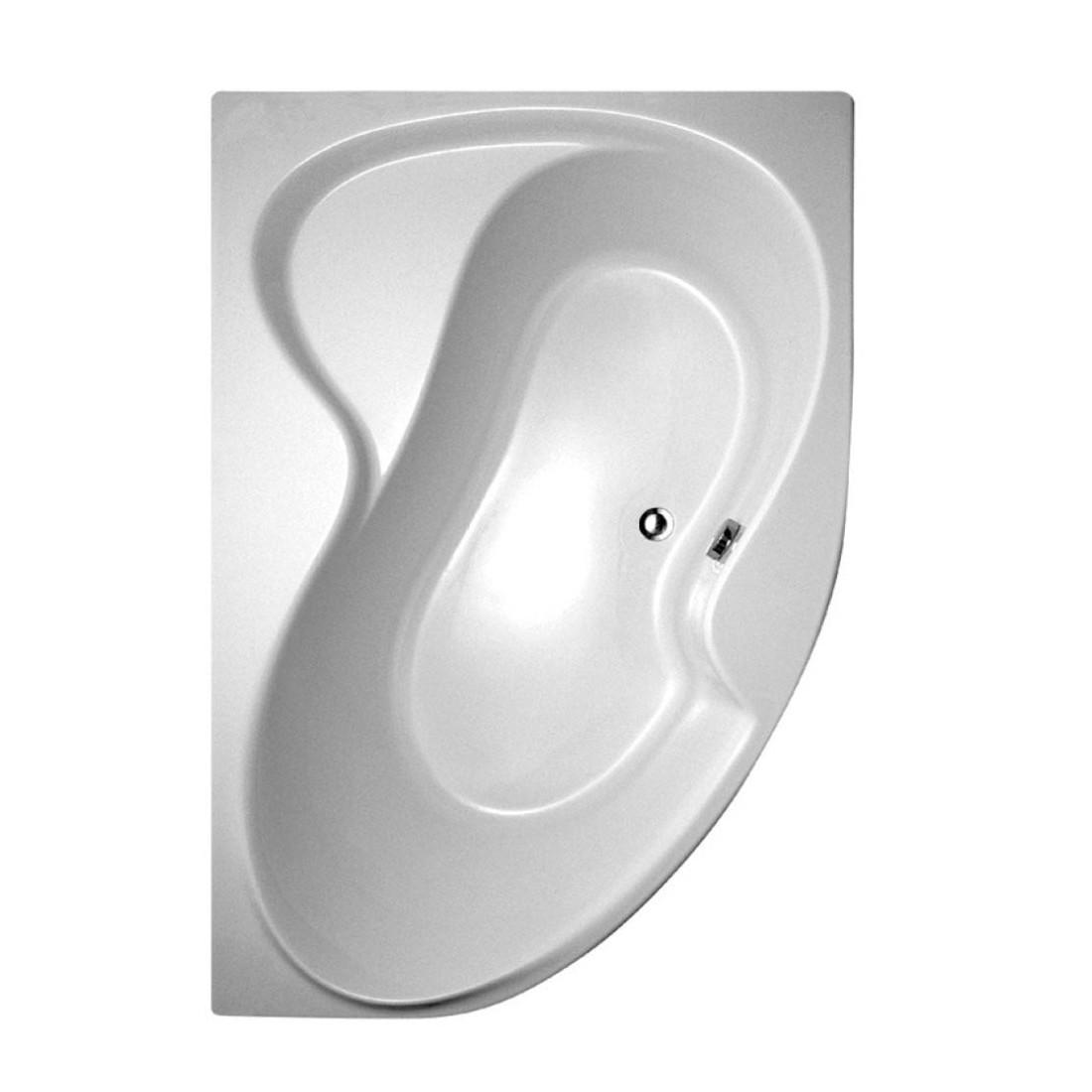 Akrilinė asimetriška vonia Ravak Rosa II, 170x105 cm, dešininė