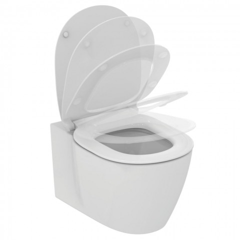WC pakabinamas Ideal Standard Connect, Aquablade, su paslėptais tvirtinimais