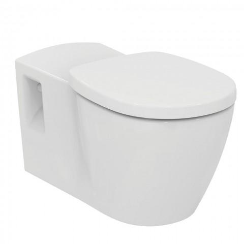 WC pakabinamas Ideal Standard Connect, Freedom Rimless, su matomais tvirtinimais