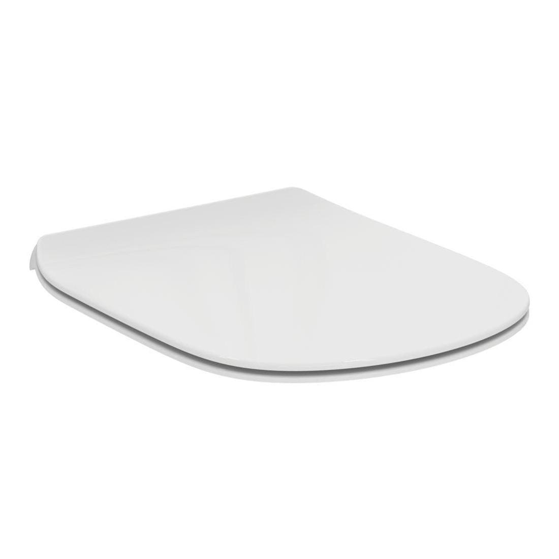 Dangtis WC Ideal Standard Tesi, Thin, lėtai nusileidžiantis