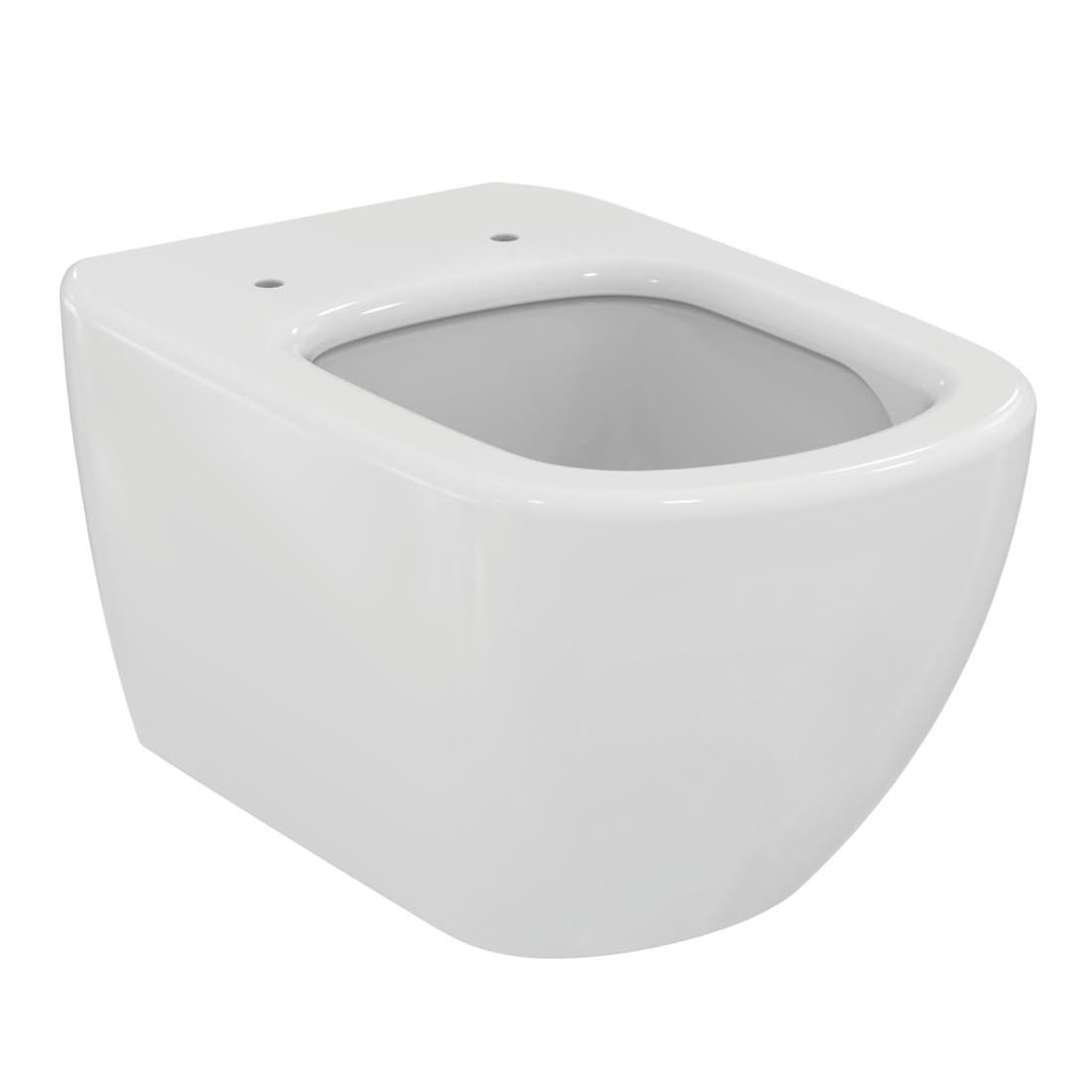 WC pakabinamas Ideal Standard Tesi, Aquablade, su paslėptais tvirtinimais