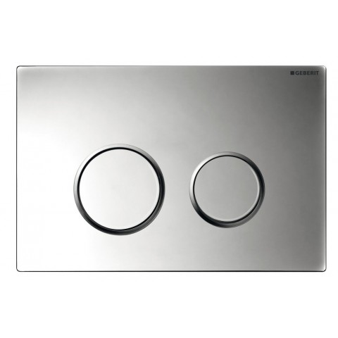 WC klavišas Geberit, Sigma 20, nerūdijantis plienas