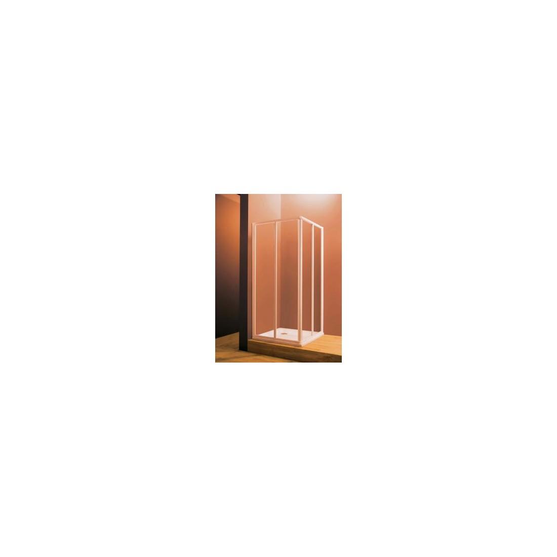 Dušo durys (kampas) Ravak SRV2, 80 cm, Transparent