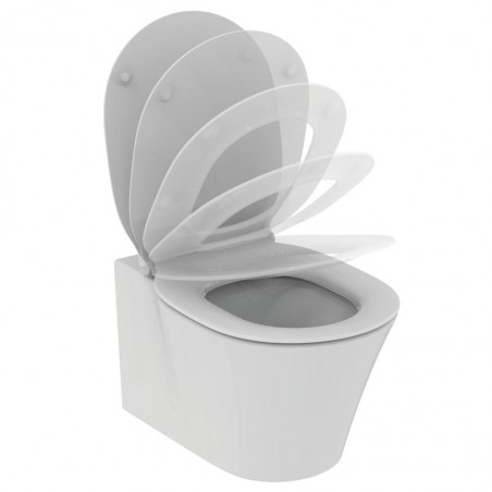 WC pakabinamas Ideal Standard Connect, Air Aquablade, su paslėptais tvirtinimais