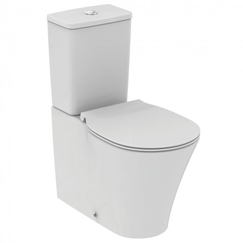 Pastatomas WC Ideal Standard, Connect Air Aquablade su bakeliu ir dangčiu