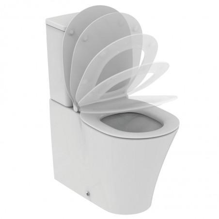 Pastatomas WC Ideal Standard, Connect Air Aquablade su bakeliu ir dangčiu