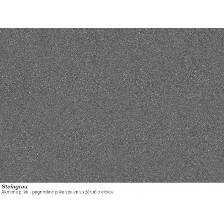 Akmens masės plautuvė Franke Kubus 2 KNG 110-37, Steingrau