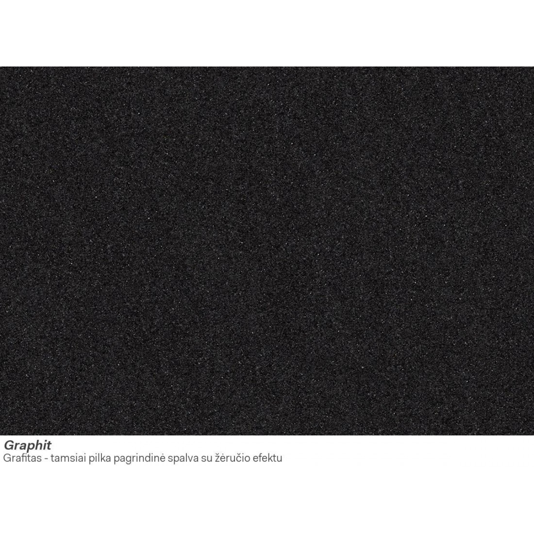 Akmens masės plautuvė Franke FX FXG 611-100, Graphit