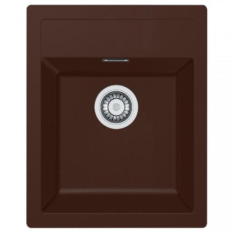 Tectonite plautuvė Franke, Sirius SID 610-40, Chocolate