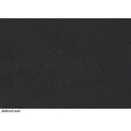Keraminė plautuvė Franke Mythos, MTK 611-78, Anthrazit Matt, dubuo dešinėje, 2 išgręžtos skylės