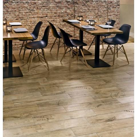 Glazūruotos keraminės grindų plytelės Porto 15x90cm
