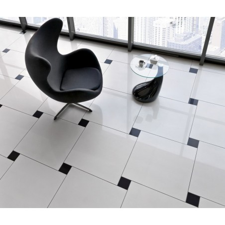 Glazūruotos keraminės grindų plytelės Black&White 60x60cm