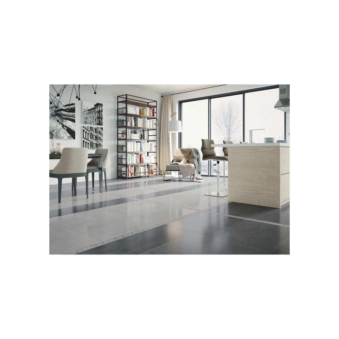 akmens masės grindų plytelės Grey 75x75cm