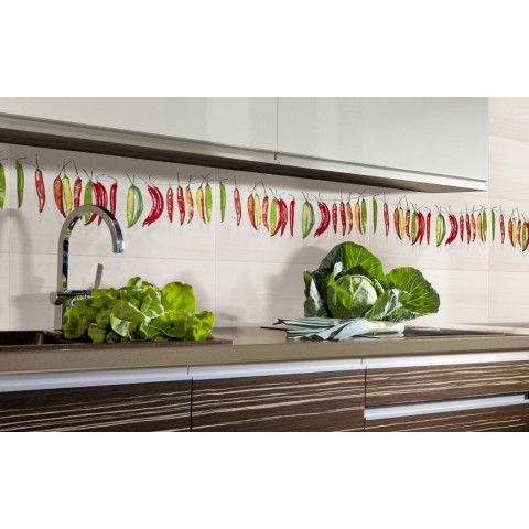 Glazūruotos keraminės virtuvs plytelės LOFT 30x60cm