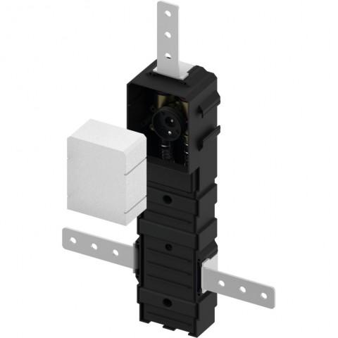TECEfloor potinkinis ventilis su montavimo korpusu RTL box