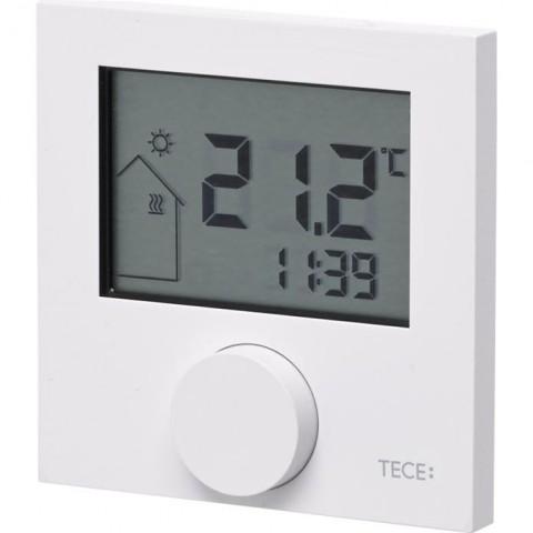 TECEfloor elektroninis, belaidis kambario termostatas RTF-D, LC ekranas