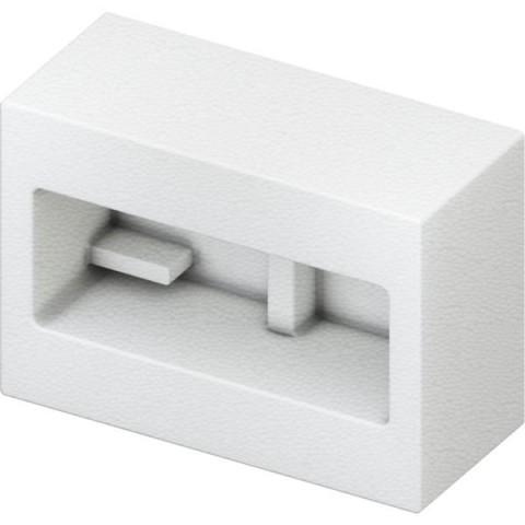 Apsauginis WC šablonas plokštės montavimui