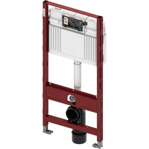 TECEprofil universalus WC modulis. Valdymas iš priekio, montavimo aukštis 1120 mm