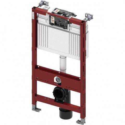 TECEprofil universalus (sužemintas H980mm) WC modulis. Valdymas iš viršaus arba iš priekio