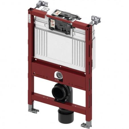 TECEprofil universalus (sužemintas H820mm) WC modulis. Valdymas iš viršaus arba iš priekio
