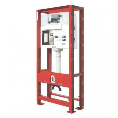 TECEprofil universalus WC modulis montuojamas be atramos į sieną. Valdymasiš priekio,montavimo aukštis 1120 mm