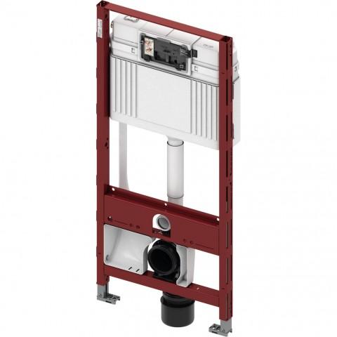 TECEprofil universalus WC modulis unitazams su bidė funkcija. Valdymas iš priekio, montavimo aukštis 1120 mm