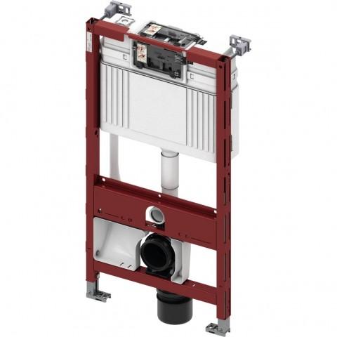 TECEprofil universalus WC modulis unitazams su bidė funkcija. Valdymas iš priekio, montavimo aukštis 980 m