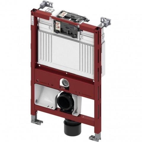 TECEprofil universalus WC modulis unitazams su bidė funkcija. Valdymas iš priekio, montavimo aukštis 820 mm