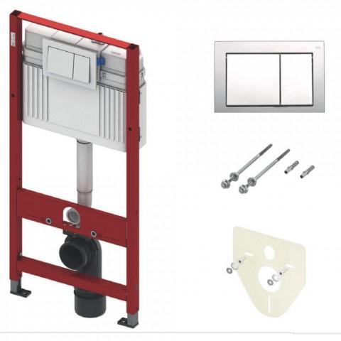 TECEprofil Base (4 in 1) WC modulis Valdymas išpriekio, montavimo aukštis 1120 mm