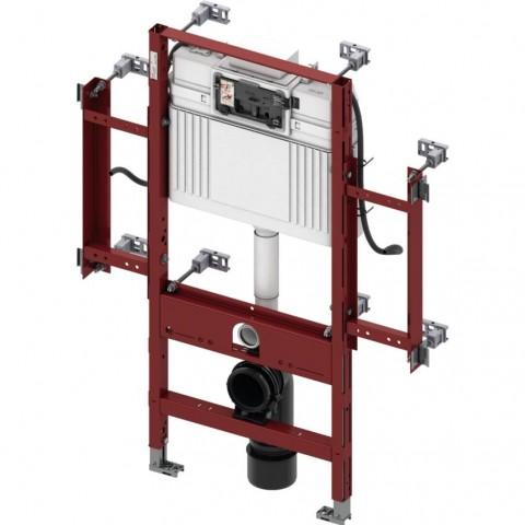TECEprofil universalus WC modulis, pritaikytas neįgaliesiems. Valdymas išpriekio, montavimo aukštis 1120 mm