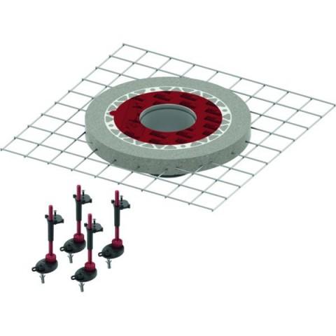 TECEdrainpoint S sustiprinta viršutinė dalis