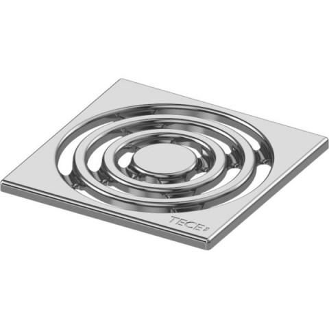 TECEdrainpoint S nerūdijančio plieno dekoratyvinės grotelės 100 x 100 mm