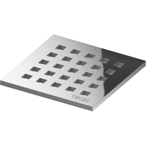 "TECEdrainpoint S nerūdijančio plieno dekoratyvinės grotelės ""quadratum"" 100 x 100 mm"