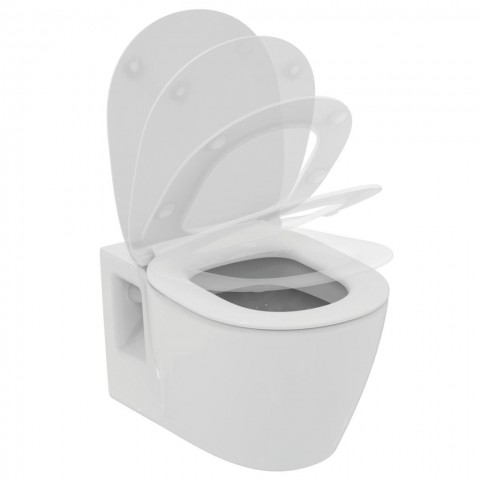WC pakabinamas Ideal Standard Connect, su matomais tvirtinimais