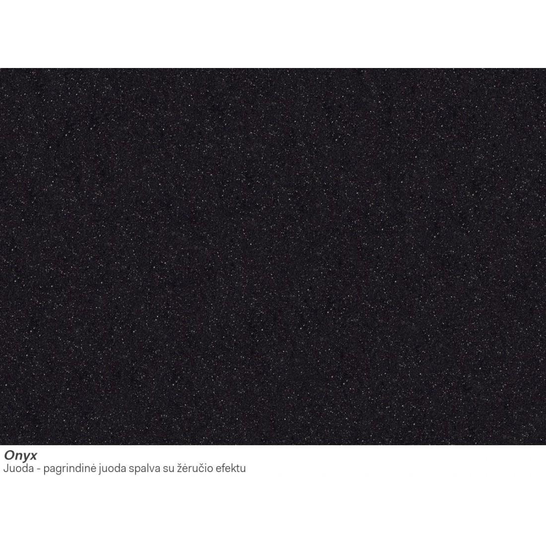 Akmens masės plautuvė Franke Mythos, MTG 651-100, Onyx, dubuo dešinėje