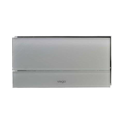 WC klavišas VISIGN FOR MORE 101 stiklas/šviesiai pilkas