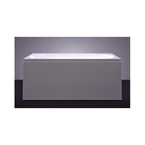 Akmens masės vonia VISPOOL VIANA 160x70 stačiakampė balta