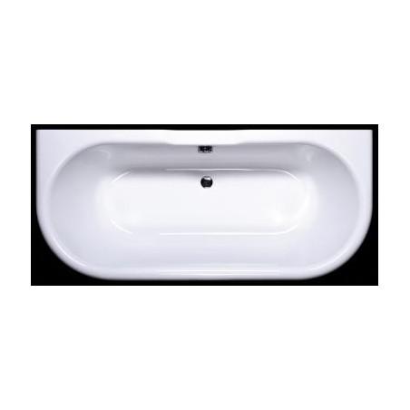 Akmens masės vonia VISPOOL LONDRA 170x75 stačiakampė balta