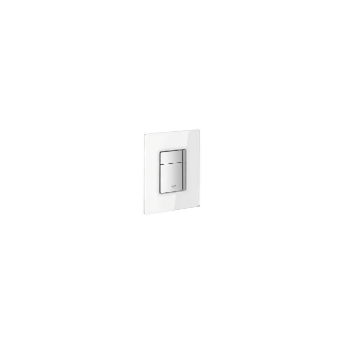 WC klavišas GROHE Skate Cosmopolitan baltas stiklas/chromas